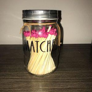 NEW Rae Dunn Matches Jar